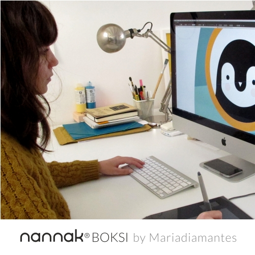 Mariadiamantes creates BOKSI for NANNAK
