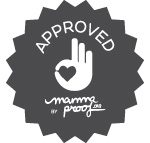 "Sello producto ""Approved by Mammaproof"""